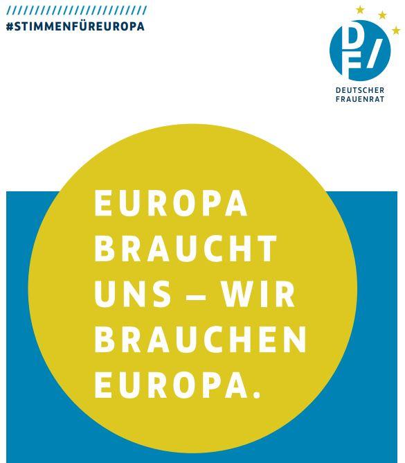 Slogan_Europa braucht uns. Wir brauchen Europa