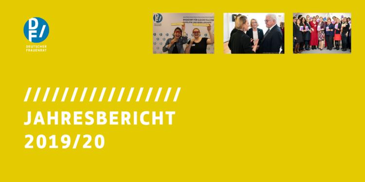 Titel Jahresbericht 2019-20